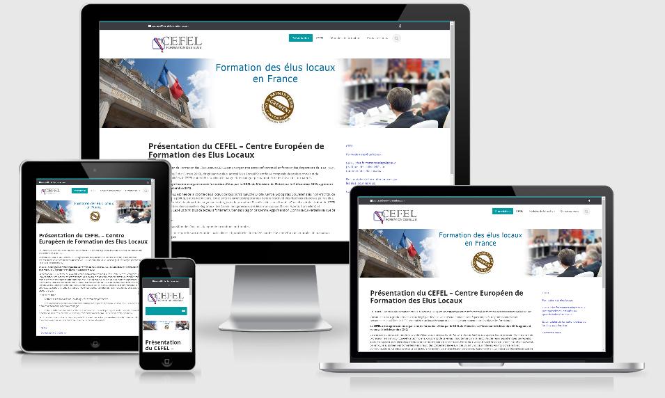 cefel creation site internet pour organisme de formation