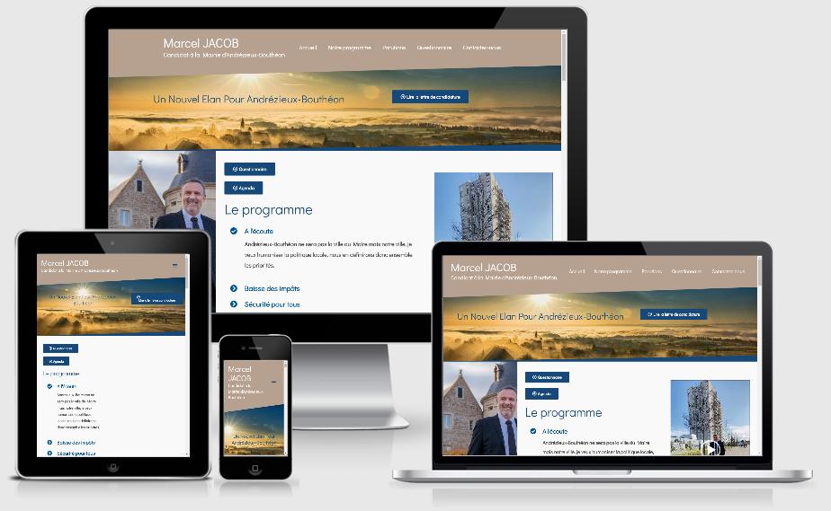 creation site internet pour campagne electorale